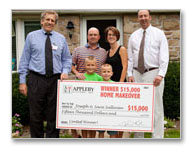 Oreland PA home improvement contest winner