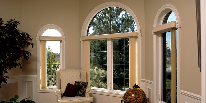 Add Beautiful Arch Top Replacement Windows from Appleby Systems in Pennsylavnia