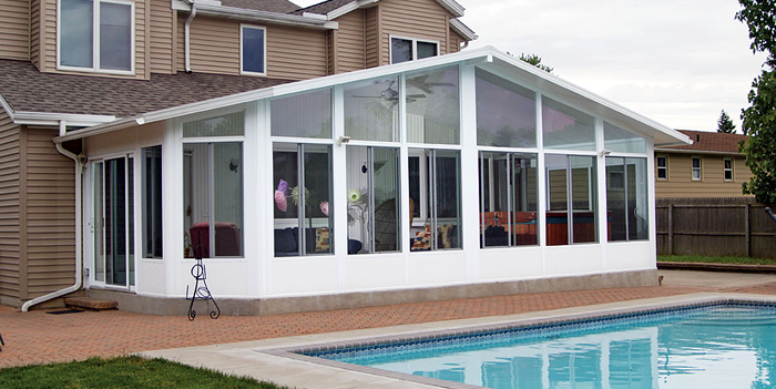 Custom sunroom designs appleby systems inc for Sunroom and patio designs
