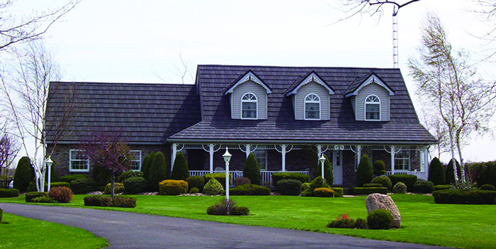 Natural Stone Metal Roofing from Appleby Systems