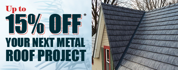Metal Roof Project 15% off in Pennsylvania from Appleby Systems